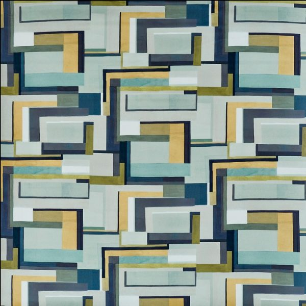 Material textil cu design deosebit Astaire Lagoon
