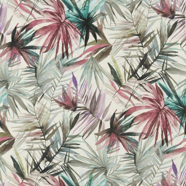 Draperii cu design tropical Waikiki Hibiscus