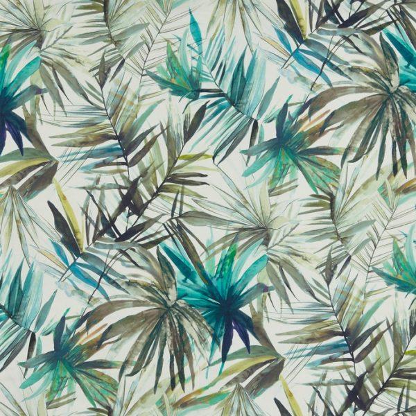 Draperii cu design tropical Waikiki Ocean