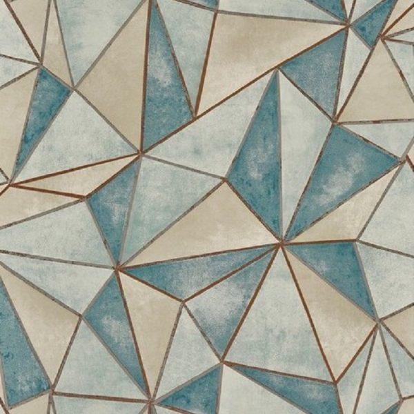 Tapet forme geometrice Shard Mineral