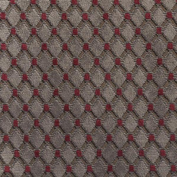 Catifea jacquard pentru tapiterie Cabochon Lauragais