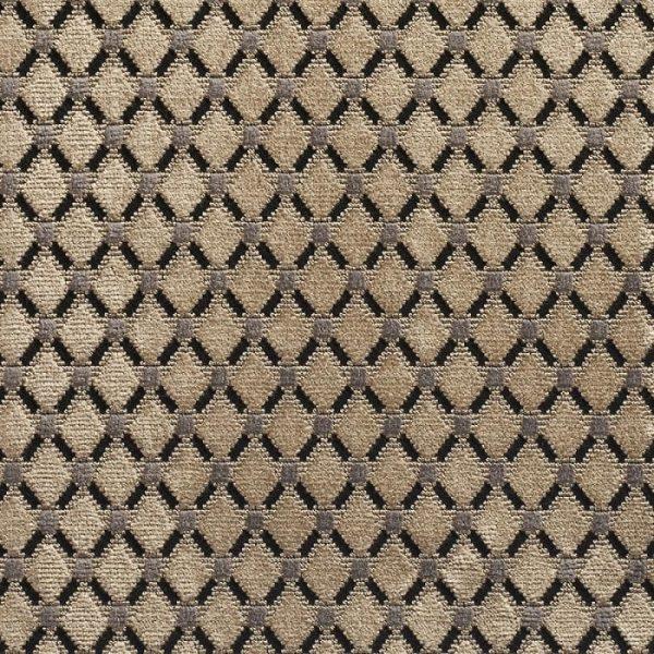 Catifea jacquard pentru tapiterie Cabochon Sable