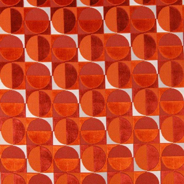Material textil tapiterie Massiel Orangine