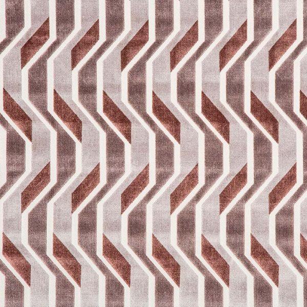 Tapiterie jacquard cu design geometric, de inspiratie retro Gropius 235