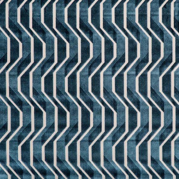 Tapiterie jacquard cu design geometric, de inspiratie retro Gropius 237