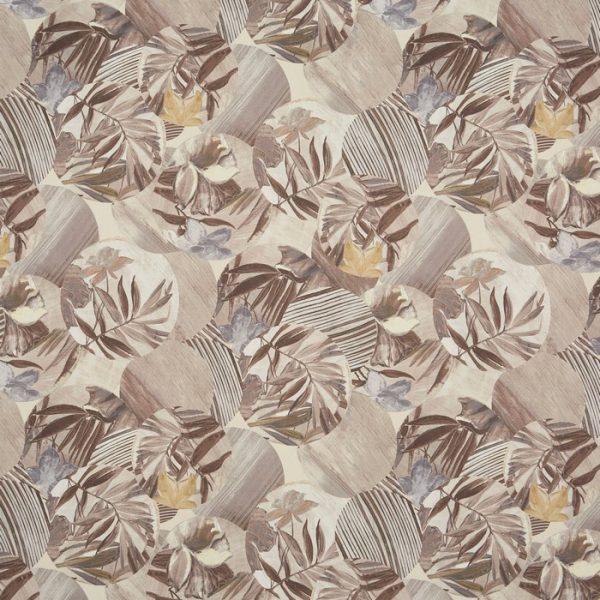 Material textil cu design floral Osaka Pampas