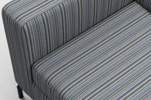 tapiterie canapea cu dungi