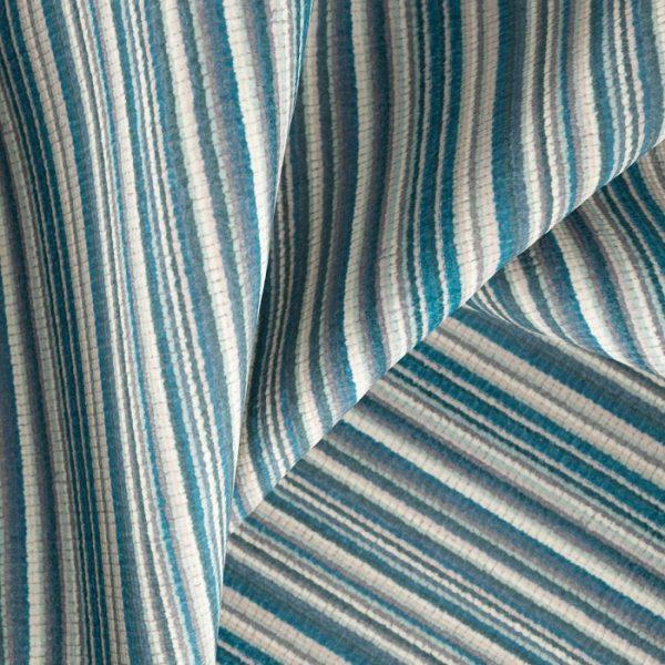 Material textil cu dungi pentru tapiterie Bingo 9 (FibreGuard)