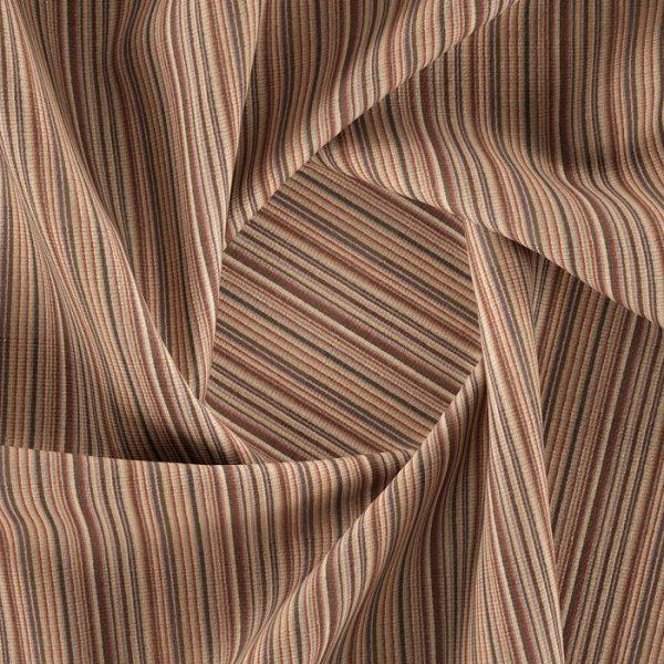 Material textil cu dungi pentru tapiterie Bingo 15 (FibreGuard)