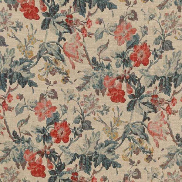 Material textil cu design floral pentru tapiterie Manor 00