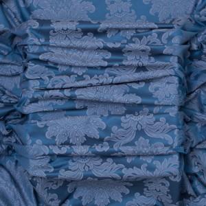 Draperii cu model clasic Palladio Azul