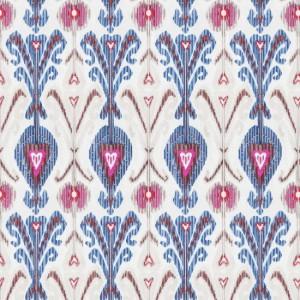Material textil pentru tapiterie din in brodat Kashmir