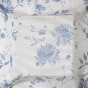 Perdele cu model floral Provenza Azul