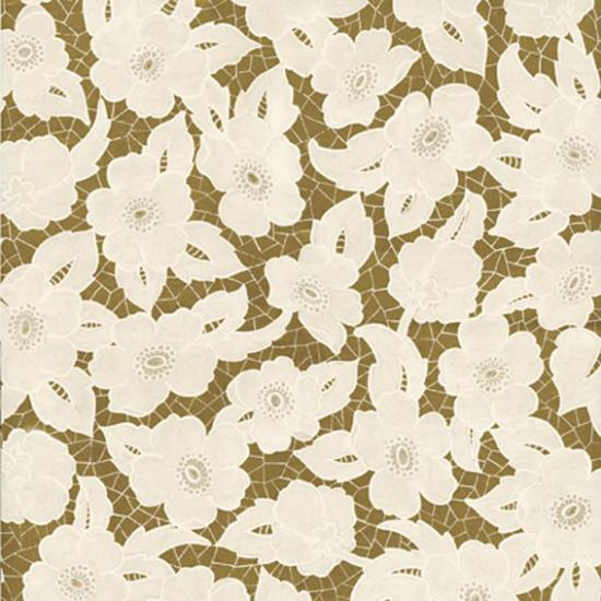 Tapet cu model floral Albinoni Oro