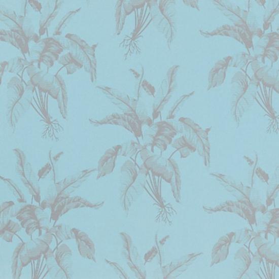 Tapet cu model floral Casablanca Azul