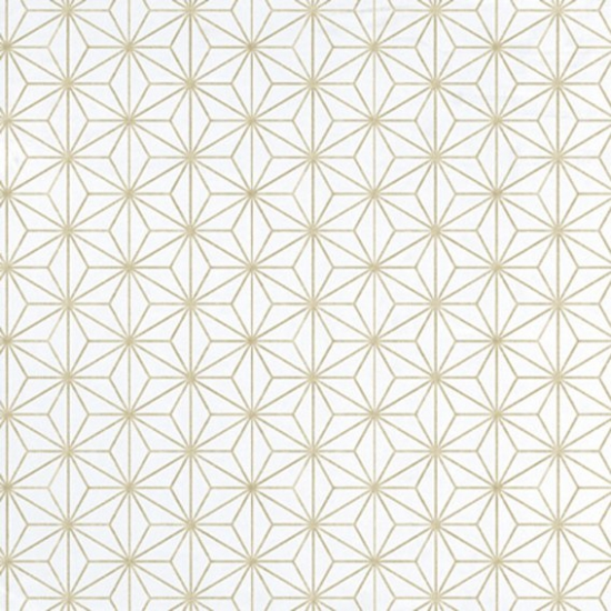 Tapet model geometric Encandenados Oro