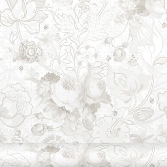 Tapet floral Berenice Piedra