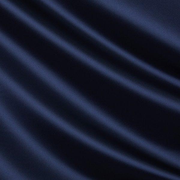 Draperii din bumbac satinat Chic Navy