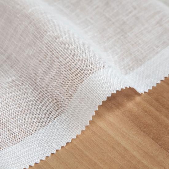 Perdele transparente din in Gea Blanco