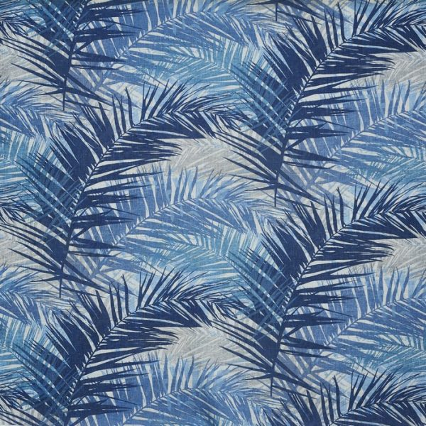 Material tapiterie Jungle Indigo