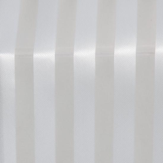 Perdele elegante cu dungi Kazan Blanco