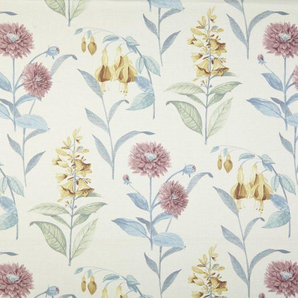 Draperii cu flori Bloomingdale Chambray