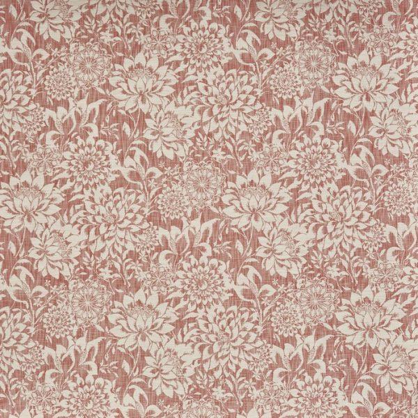 material tapiterie cu flori lagoa cranberry