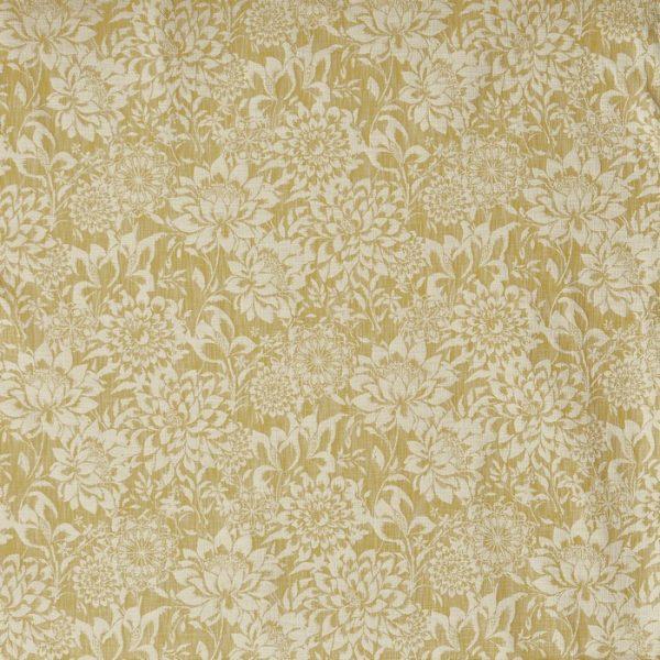 Material tapiterie cu flori Lagoa Citron