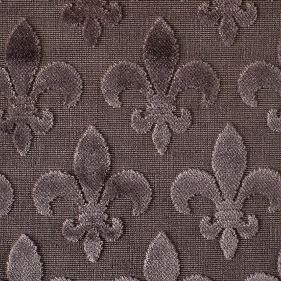 Tapiterie jacquard model Fleurs de Lis Antracita