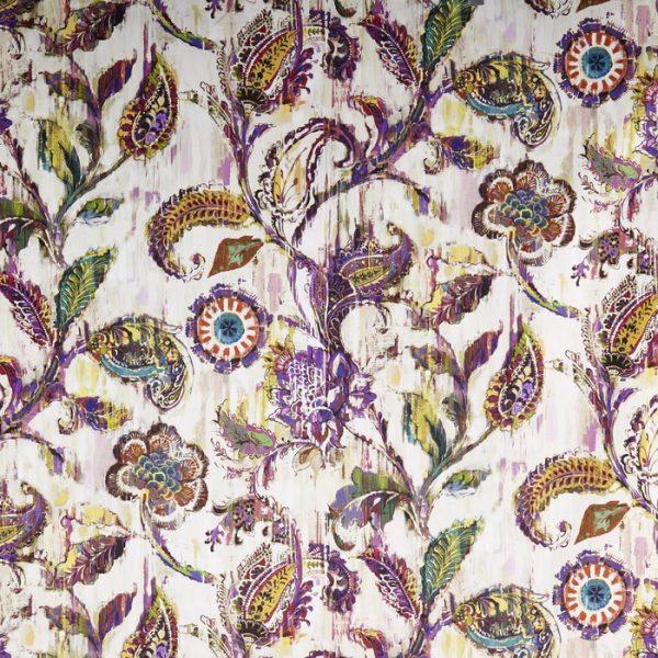 Material tapiterie model floral Grandeur Gemstone