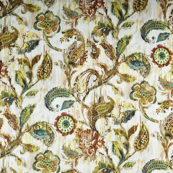 material tapiterie model floral grandeur burnished