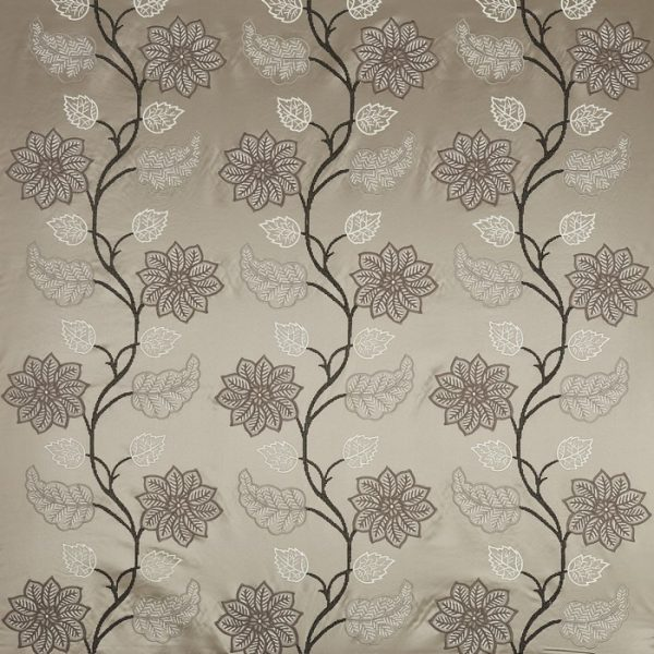 Draperii model floral Wilton Platinum