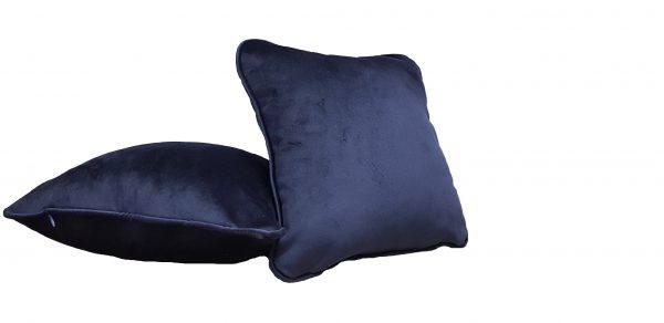 Set doua perne decorative din catifea – culoare albastru
