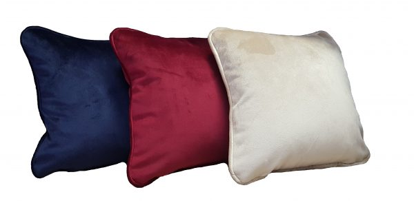 Set perne decorative din catifea divers colorate