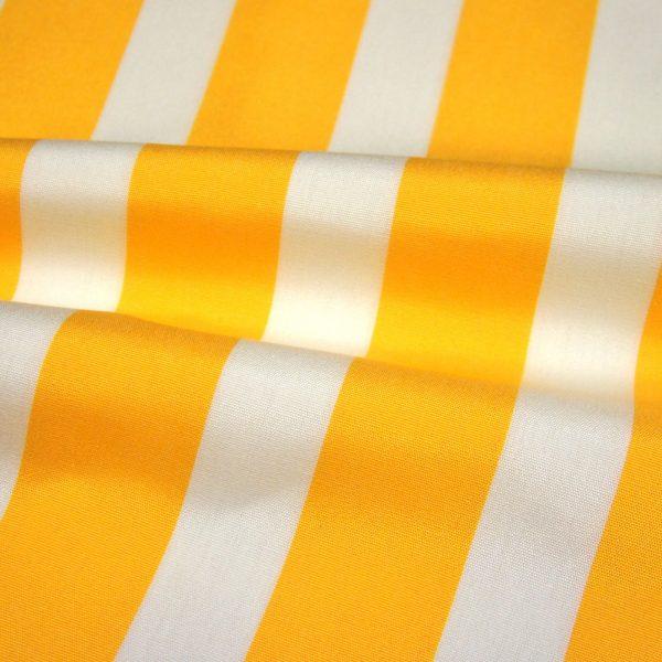 Material textil pentru exterior Listado Amarillo