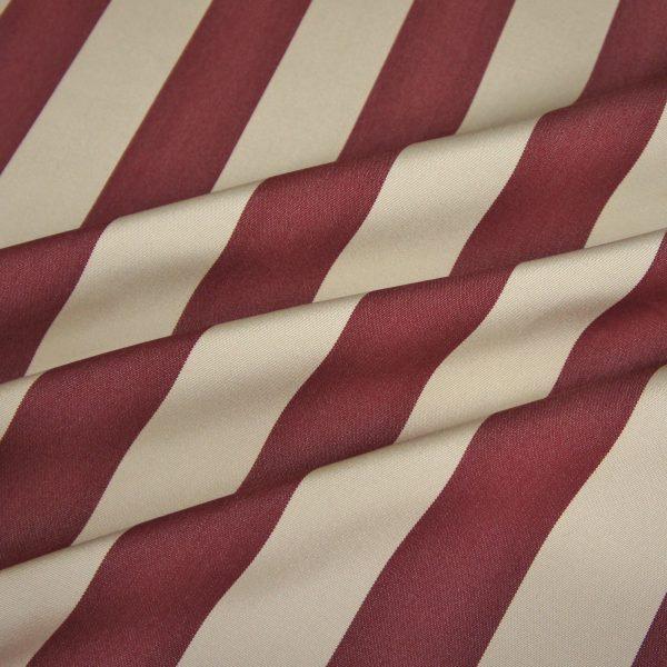 Material textil de exterior Lines Granate