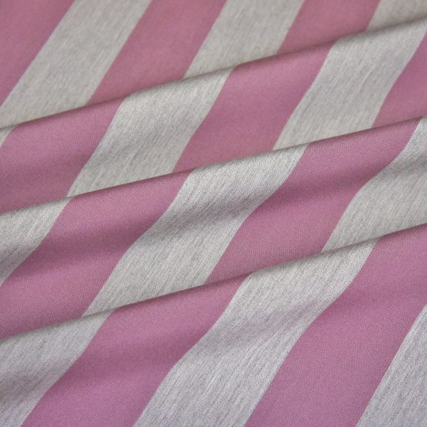 Material textil de exterior Lines Grape