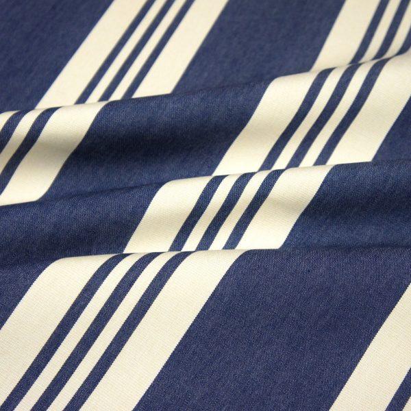 Material textil outdoor Calles Azul Oscuro