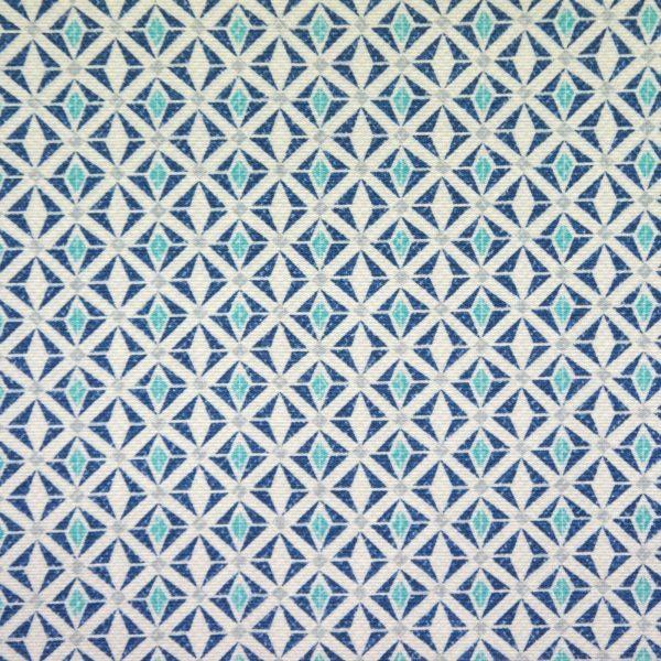 Material textil outdoor Yuriko Bleu
