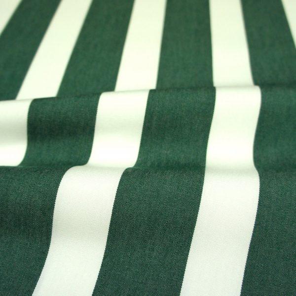 Material textil pentru exterior Listado Verde Oscuro