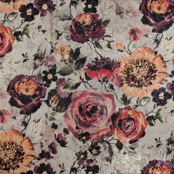 Catifea imprimata floral Rossini 02