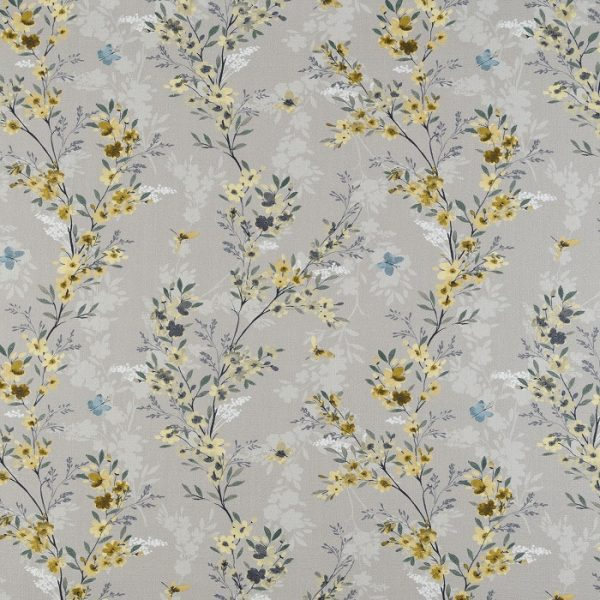Material textil cu flori Camelia 01