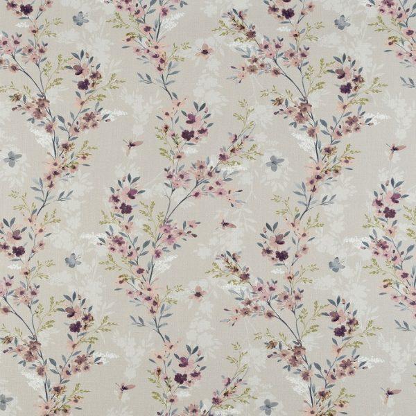 Material textil cu flori Camelia 02
