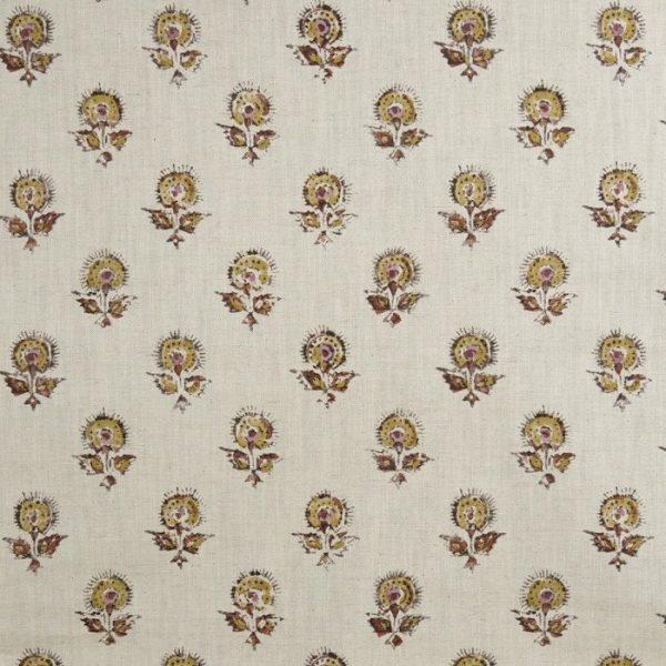 Material textil cu model floral de mici dimensiuni Konkani 1