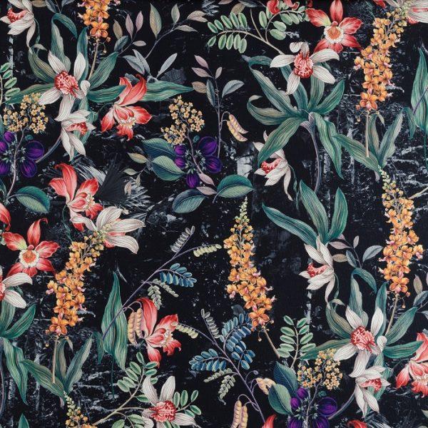 Material textil floral Sophie