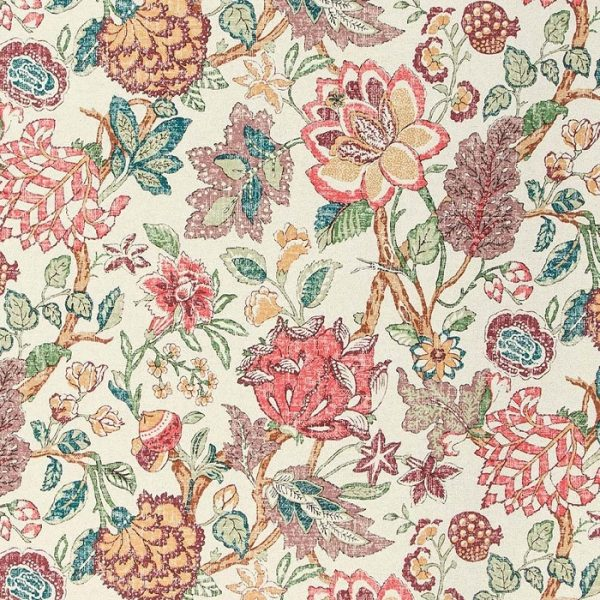Material textil floral pentru tapiterie Grenoble 2