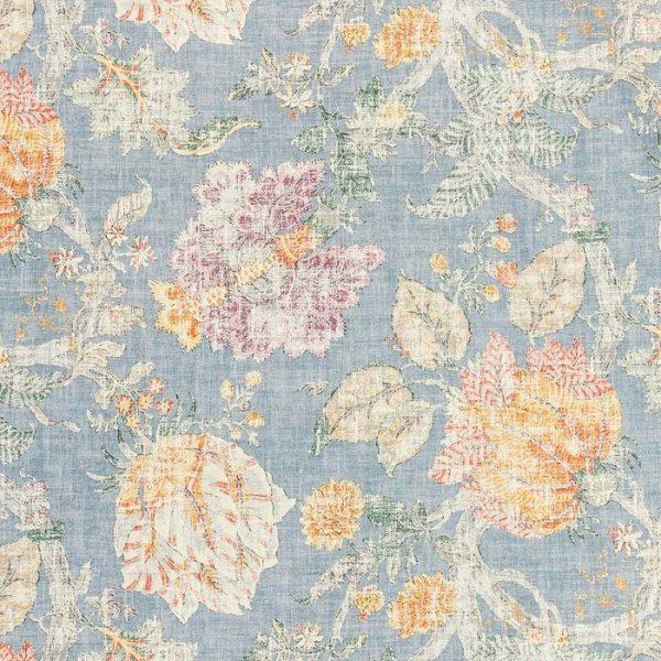 Tesatura cu imprimeu floral vintage Adrienne 3