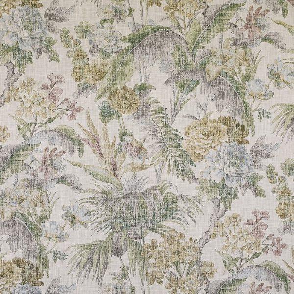 material pentru tapiterie cu model floral Branklyn 2