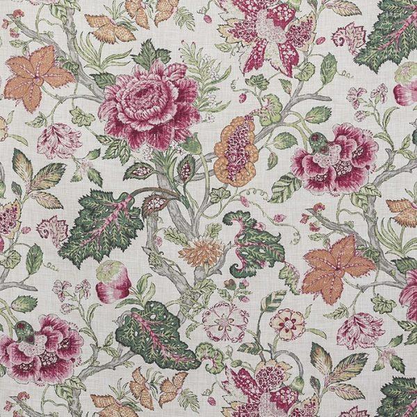 Material pentru tapiterie cu model floral Drummond 2