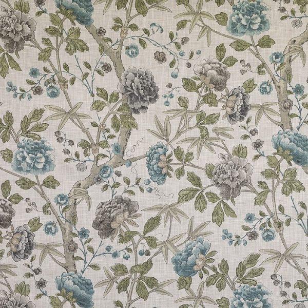 material tapiterie cu model floral Benmore 1